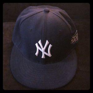 Yankee World Series hat
